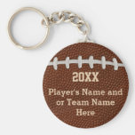Cheap Personalised Football Gifts for Players Basic Round Button Key Ring
