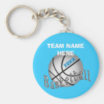 CHEAP Personalised Gifts for Girls Basketball Team Basic Round Button Key Ring