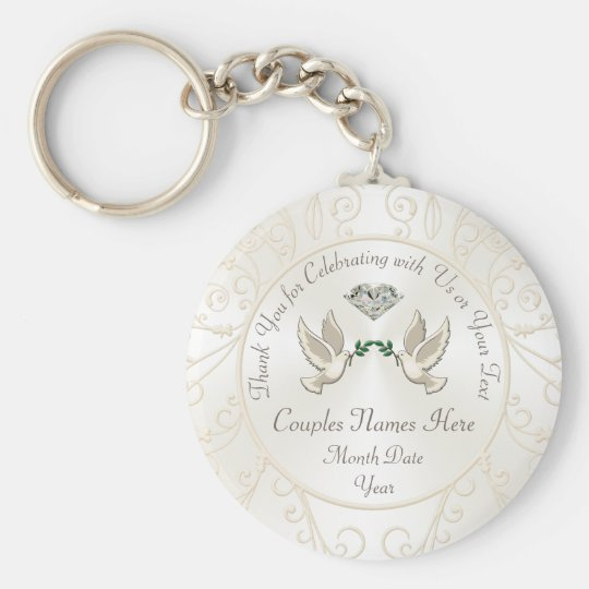 Cheap Personalised Wedding Gifts for Guests, BULK Key