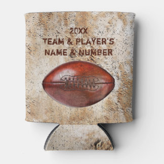 Cheap Personalized Football Team Gifts, Can Cooler