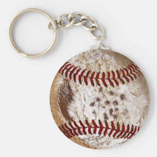 CHEAP Really Dirty Old Baseball Keychains for Guys