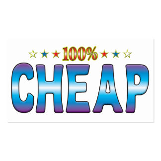 Cheap Star Tag v2 Business Card