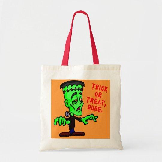 Cheap, Sturdy, Roomy Halloween Candy Bag