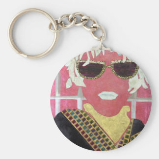 Cheap Sunglasses. Basic Round Button Key Ring