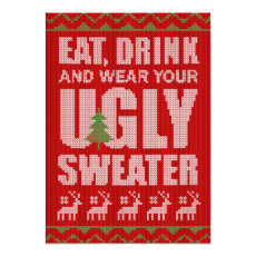 Cheap Ugly Sweater Christmas Party
