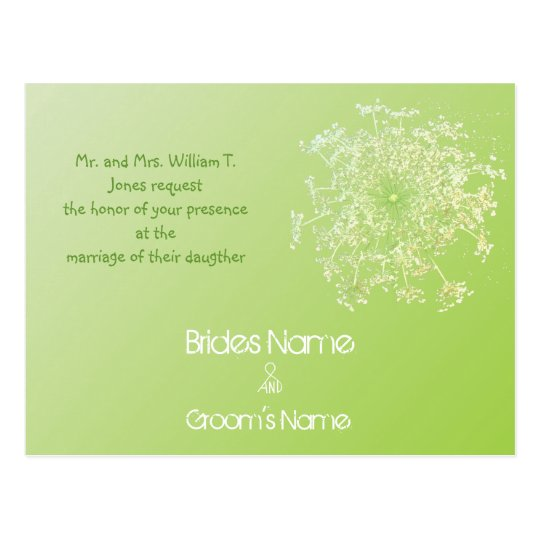 Cheap Wedding Invitation Postcards