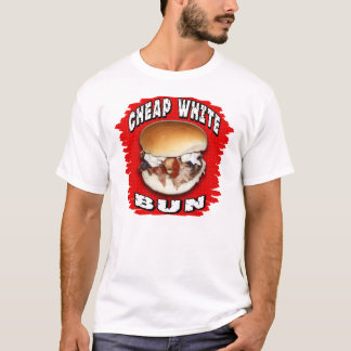 Cheap White Bun T-Shirt