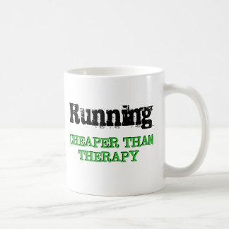 Cheaper Than Therapy Basic White Mug