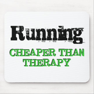 Cheaper Than Therapy Mouse Mat
