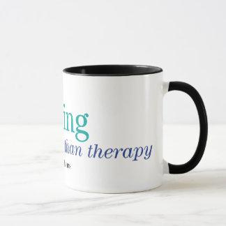 Cheaper Than Therapy Mug