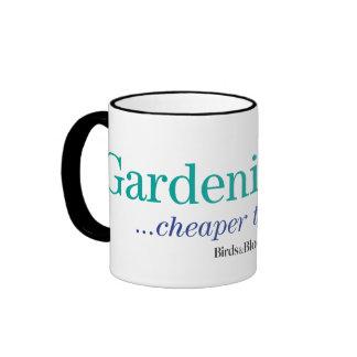Cheaper Than Therapy Ringer Mug