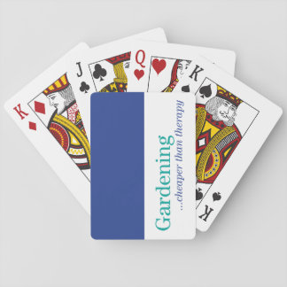 Cheaper Than Therapy Playing Cards