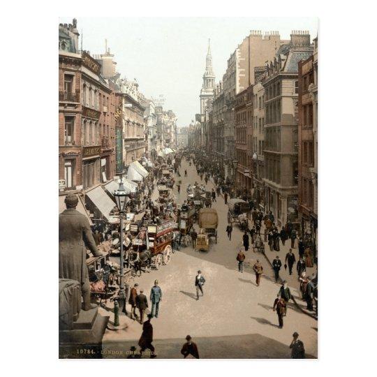Cheapside, London c.1895 Postcard