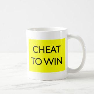 Cheat To Win Coffee Mug