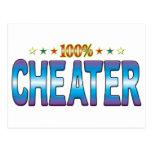 Cheater Star Tag v2 Post Card