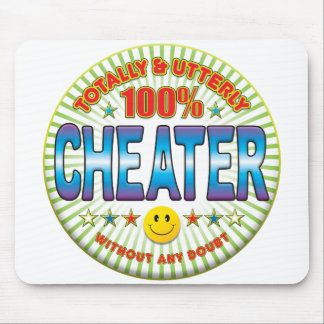 Cheater Totally Mouse Pad