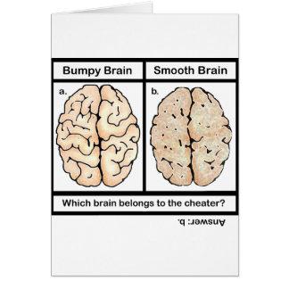 Cheating Brain Card