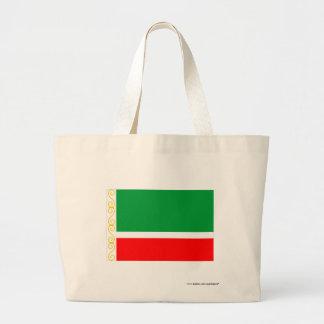 Chechen Republic Flag Canvas Bags