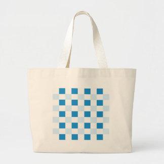 Check Canvas Bag