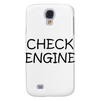 Check Engine Samsung Galaxy S4 Cases