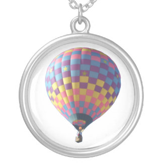 Check-It-Out Hot Air Balloon Necklace