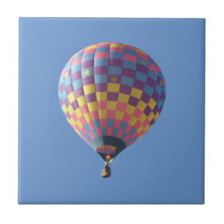Check-It-Out Hot Air Balloon Tile