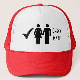 Check Mate Trucker Hat