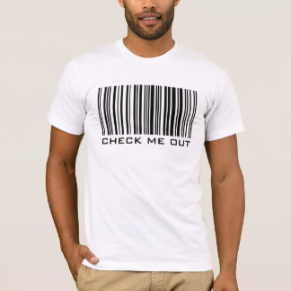 Check Me Out - Barcode - T-Shirt