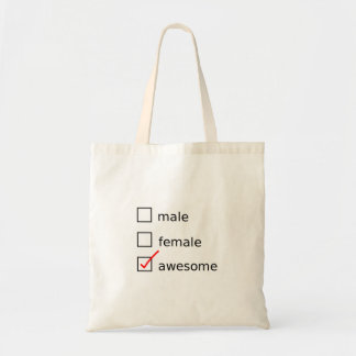 Check Me Out tote