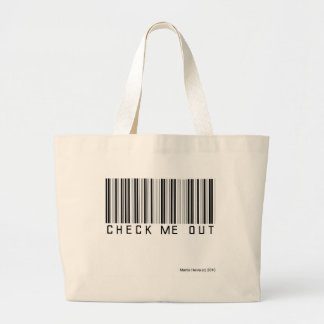 Check Me Out Jumbo Tote Bag