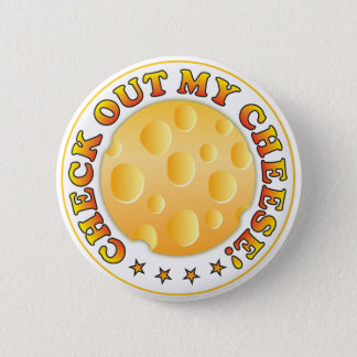 Check Out 6 Cm Round Badge