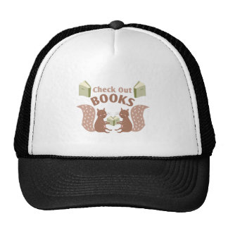 Check Out Books Cap