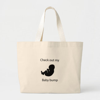 check out bump tote bags