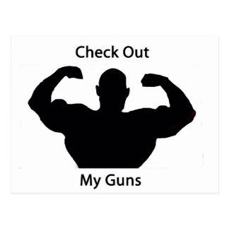 Check out my guns postcard