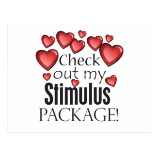 Check out my Stimulus Package Postcard