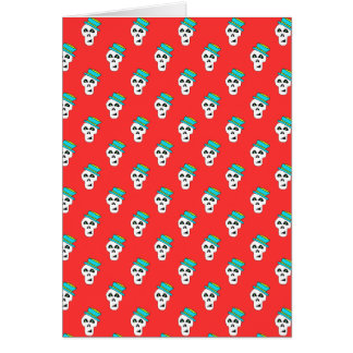 CHECK OUT THIS AWESOM  SAM THE SKULL CARD! GREETING CARD