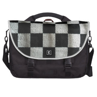check pattern (knitting) laptop computer bag