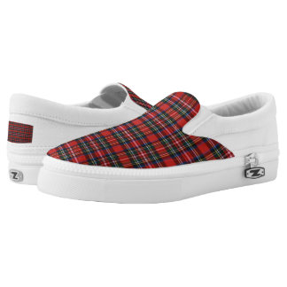 Check Slip-On Shoes