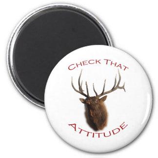 Check That Attitude Fridge Magnet