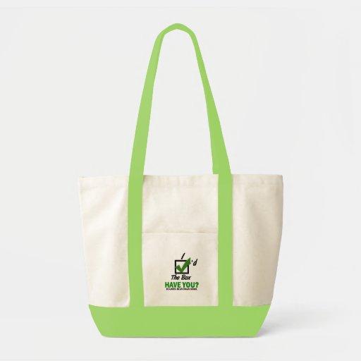 Check The Box Be An Organ Donor 2 Impulse Tote Bag