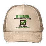 Check The Box Be An Organ Donor 4 Mesh Hats