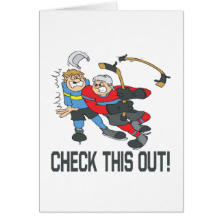 Check This Out Greeting Card