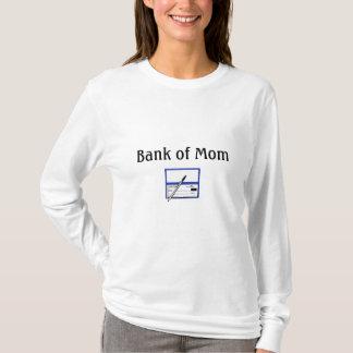 checkbook, Bank of Mom T-Shirt