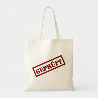 Checked Canvas Bags