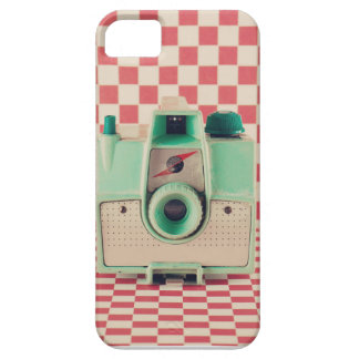 Checked Camera iPhone 5 Case