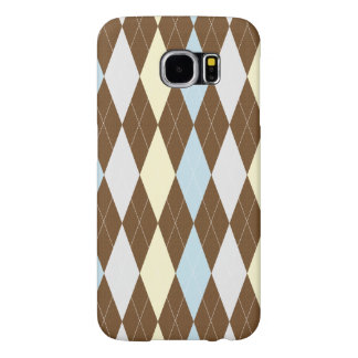 Checked Pattern Samsung Galaxy S6 Cases