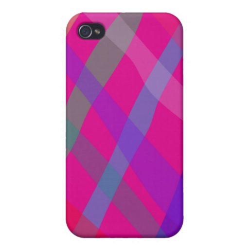 Checked Pern iPhone 4 Cases
