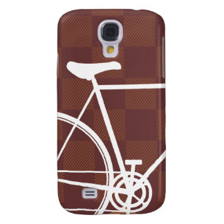 Checker Bicycle Galaxy S4 Case