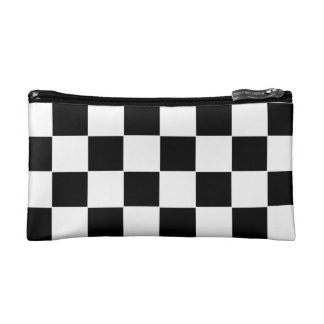 Checker Board Cosmetic Bag