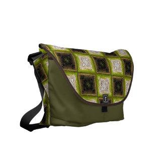 Checker Board Pattern Commuter Bag